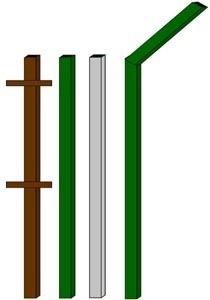 изготовление металлические столбы в Челябинске