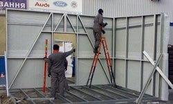 Строительство торговых павильонов в Челябинске